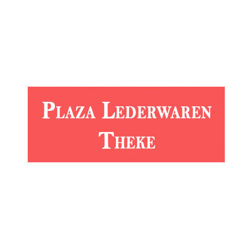 Plaza Lederwaren Theke